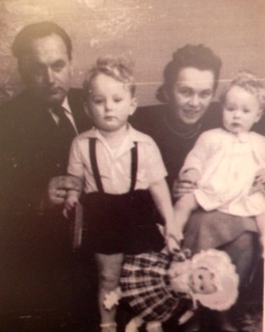 My family - photo taken probably a year after U.S. arrival.
