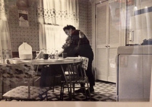 One of favorite photos.  My mom and dad in the Sewickley home that they cherished.
